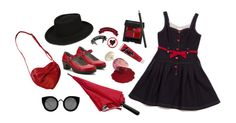 """Heliophobia"" by filthyqueen ❤ liked on Polyvore featuring мода, Alegria, Quay, Kreepsville 666, Vincent Longo и Zinka"