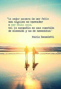 Amor propio. Mario Benedetti