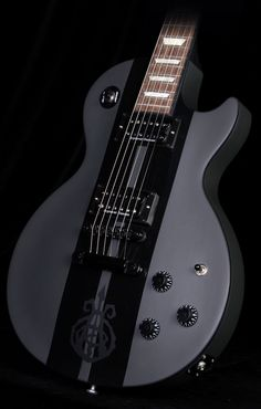Gibson DJ Ashba Signature Les Paul in Charcoal Gray/Black