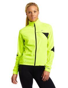 Pearl Izumi Women's Elite Barrier Jacket,Screaming Yellow,Small - http://ridingjerseys.com/pearl-izumi-womens-elite-barrier-jacketscreaming-yellowsmall/