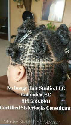 Sisterlocks Installation at Nu Image Hair & Body Studio l, LLC  Columbia, SC