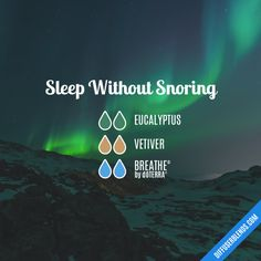 Sleep Without Snoring - Essential Oil Diffuser Blend