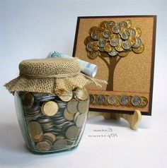 how to decorate money gift