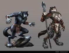 Bitefight Werewolves by *Scebiqu on deviantART -- Abbekqorru