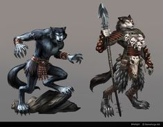 Bitefight Werewolves by *Scebiqu on deviantART -- Abbekqorru