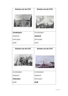 VOC Kwartet: Deel 6