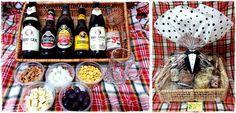 Cesta para namorado ou para os pais #cesta #cerveja #beer #amor #love #criatividade #diy