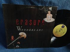 RARE Vintage Erasure  Wonderland Vinyl LP Record by sweetleafvinyl