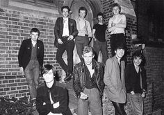 the Clash and the Undertones
