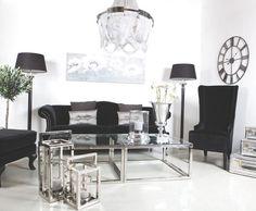 Sofa Velour | Pandoras Eske: Møbler, interiør & livsstil. Chair, Interior, Table, Furniture, Home Decor, Decoration Home, Indoor, Room Decor, Tables