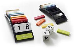 12 Most Creative Calendar Systems (post it calendar, calendar systems) - ODDEE