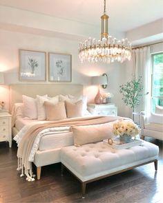 Home Decor Inspiration, Bedroom Makeover, Home Bedroom, Pretty Bedroom, Home Decor, Apartment Decor, Room Decor Bedroom, Girl Bedroom Decor, Master Bedrooms Decor