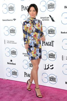 Aubrey Plaza   All The Looks From The 2015 Independent Spirit Awards