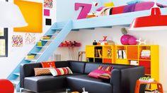 mezzanine bleue