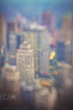 The city that never sleeps by Carmen Moreno Photography.  NYC in a blur.