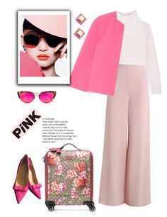 """Pink dream"" by gul07 ❤ liked on Polyvore featuring Allude, Zimmermann, Michael Kors, Kate Spade, Krewe, Gucci and Marc by Marc Jacobs"