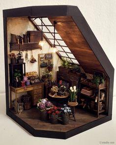 Studio Soo Flower Shop Miniature