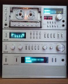 Philips AH 109; 209; 309 & N5581 Cassettedeck