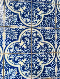 "Azulejos of Porto - via European Travel Magazine 13-03-2017 | When visiting Porto in November 2016, we were amazed by the diversity, creativity and radiance of the Azulejos, that are pretty much covering everything in Portugal in general and Porto in particular. The Portuguese adopted the Moorish tradition of horror vacui – ""fear of empty spaces"" – and covered walls and buildings completely with azulejos."