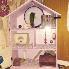 DIY Dollhouse Hamster Cage - PetDIYs.com