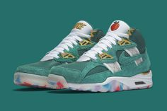 new concept c17b2 ce5cf Nike Releases Air Trainer SC High Paying Tribute to the 1996 Olympics