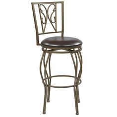 Cosmo Metal Grey Ash Frame Swivel 30-inch Bar Stool | Overstock™ Shopping - Great Deals on Office Star Products Bar Stools
