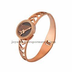 pulsera de torre effiel en oro rosado de moda para mujer -SSBTG642631