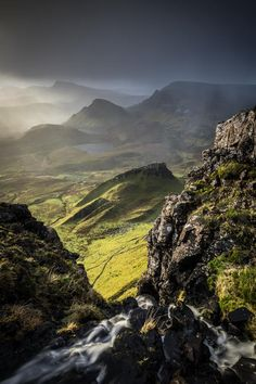A morning after a rain at The Quiraing, Isle of Skye, Scotland