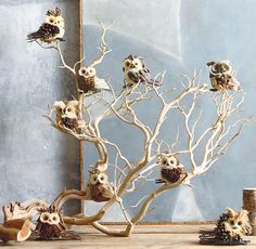 Roost Parliament of Owls Ornaments – Modish Store