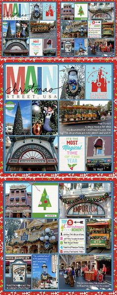 Main Street Christmas   A Disney Project Mouse Story - A Photo Book from Kathleen Summers - Sahlin Studio Project Mouse