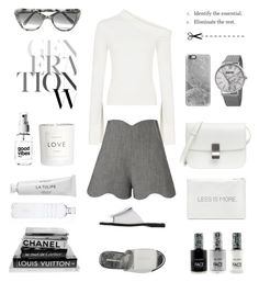 """""""Unbenannt #998"""" by fashionlandscape ❤ liked on Polyvore featuring Paper London, J.W. Anderson, August Steiner, Prism, Alicia Hannah Naomi, Casetify, H&M, Byredo and FACE Stockholm"""