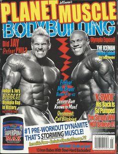 Planet Muscle magazine Jay Cutler Chuck Liddell Mo Brant Organic truths Calves