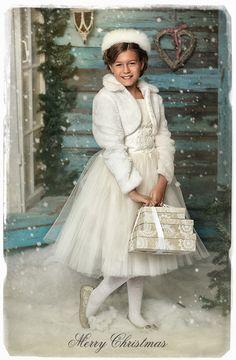 Рождественская открытка. Автор: Родионова Наташенька