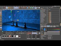 Introduction to Lighting in CINEMA 4D - 02 Common light attributes in CINEMA 4D - YouTube