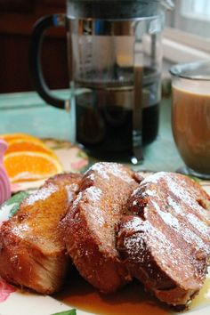 Challah French toast.