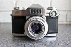Vintage 50s Zeiss Contaflex Super