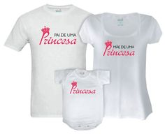 Kit Família Pais de uma Princesa - Vem de Berço 09a2d8c1e3a