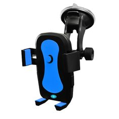 Fully Rotatable Universal Car Dashboard Windshield Mount Phone Holder Extendable Arm Cradle (Blu). Fully Rotatable Universal Car Dashboard Windshield Mount Phone Holder Extendable Arm Cradle with Ultra Strong Vacuum Suction Base for iPhone, iPod Touch, Samsung Galaxy, Nexus, Nokia Lumia, LG, HTC, Sony Xperia, GPS and more iOS, Windows & Android Smartphones available in the market for up to 3.3 inches in width. Color: Black-Blue. EASY INSTALLATION --- This Car Mount saves you the hassle of...