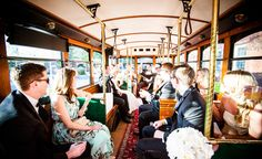 Absolutely Charleston Wedding Party Transportation // Amy-Marie Kay Photography //  Charleston SC Wedding Photography