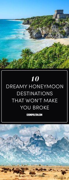 10 Best Honeymoon Destinations on a Budget - Top Cheap Honeymoon Ideas #honeymoon #honeymoondestination #honeymoonlocation