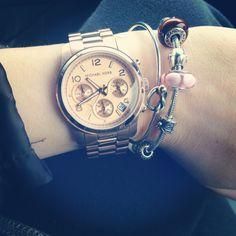 @Michael Kors watch love!