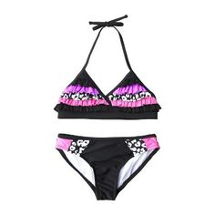 Xhilaration® Girls' 2-Piece Swimsuit : Target Mobile
