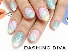 夏ネイル 2016 ジェルネイルデザイン ダッシングディバ DASHING DIVA