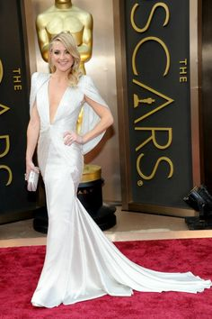 Kate Hudson with Versace Atelier dress in Oscars 2014