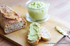 Kleiner Kuriositätenladen: Limetten-Parmesan-Butter