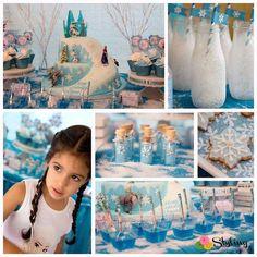 Cumpleaños temático de Frozen