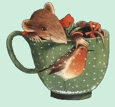 illustrations by quenalbertini - Marjolein Bastin illustration - vera the mouse, vera la souris. Mouse Illustration, Marjolein Bastin, Nature Artists, Cute Mouse, Dutch Artists, Whimsical Art, Christmas Art, Illustrators, Folk Art