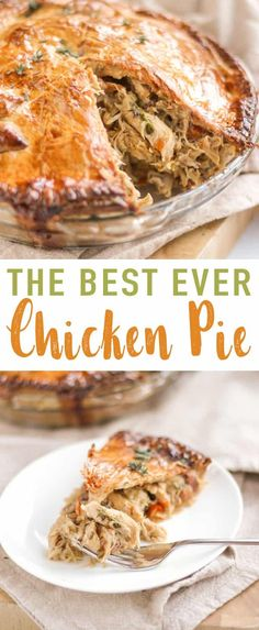 This Chicken Pie recipe has everything you need in a creamy chicken pie. Moist, tasty, home cooked chicken, added vegetables and a light chicken pie sauce made with the chicken stock. Add in some crispy bacon and delicious shortcrust pastry and this easy chicken pie recipe is a winner! via @tamingtwins