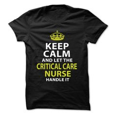 Love being -- CRITICAL-CARE-NURSE
