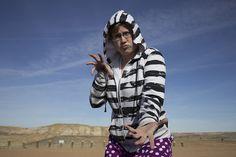 Being a ninja isn't as easy as it looks. Wardrobe is half the battle.